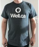 Well.ca Men's Ultra Cotton T-Shirt Dark Heather Grey