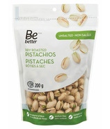 Be Better Unsalted Dry Roasted Pistachios