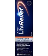 LivRelief Sport & Active Pain Relief Cream