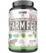 Axe & Sledge Farm Fed Protein Vanilla Milkshake