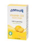 Delicious D Lemon Vitamin D3 Liquid Drops