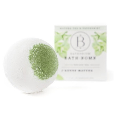 Bathorium J\'adore Matcha Bath Bomb