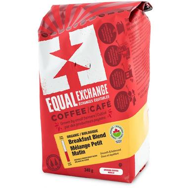 Equal Exchange Breakfast Blend Organic Coffee - Ground