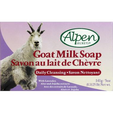 Alpen Secrets Goat Milk Daily Cleansing Soap