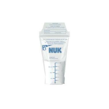 NUK Seal \'n Go Breast Milk Storage Bags