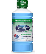 Pedialyte AdvancedCare Electrolyte Rehydration Solution Blue Raspberry