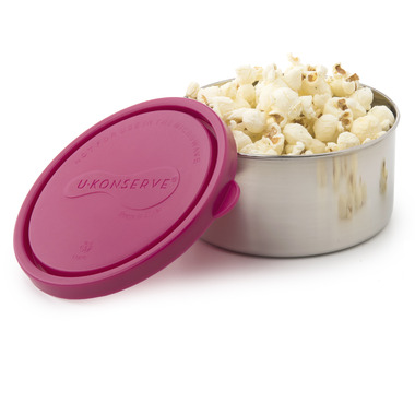U-Konserve Round Stainless Steel Container Large in Magenta