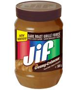 Jif Dark Roast Creamy Peanut Butter