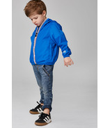 O8 Lifestyle Kid's Full Zip Packable Jacket Royal Blue