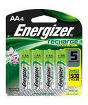 Energizer Recharge Universal Batteries AA