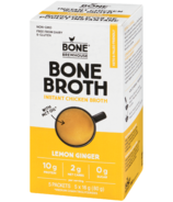Bone Brewhouse Lemon Ginger Instant Chicken Bone Broth