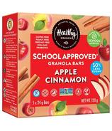 Healthy Crunch School Approved Granola Bars Apple Cinnamon