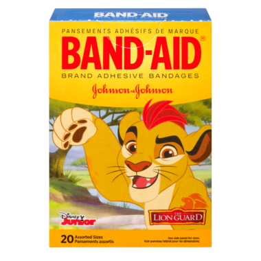 Band-Aid Brand Adhesive Bandages The Lion Guard