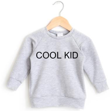 Posh & Cozy Crewneck Sweater Cool Kid Heather Grey XS-M