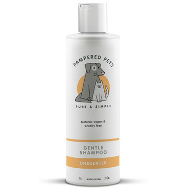Pampered Pets Pet Shampoo Unscented