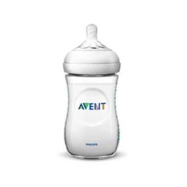 Philips AVENT Natural Ultra Soft Nipple 9 oz Bottle