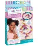 Make It Real Beaded Charm Bracelet Rainbow Dream