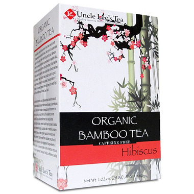 Uncle Lee\'s Organic Bamboo Hibiscus Tea
