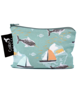 Colibri Reusable Snack Bag Small in Narwhal