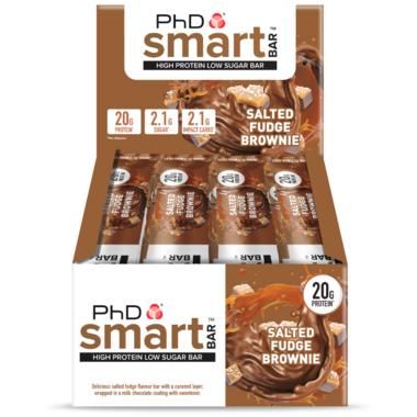 PhD Nutrition Smart Bar Salted Fudge Brownie