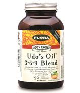 Mélange d'huiles 3-6-9 de Udo's Choice Capsules