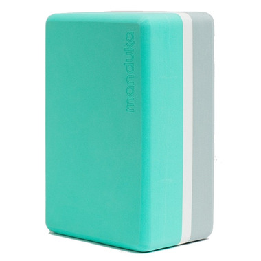 Manduka Recycled Foam Block Seafoam