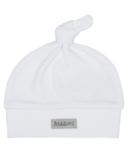 Juddlies Organic Hat White & Grey