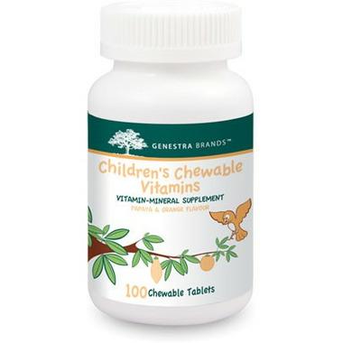 Genestra Children\'s Chewable Vitamins Papaya & Orange Flavour