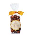 Saxon Chocolates Milk and Dark Chocolate Enrobed Pretzels Bag