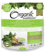 Organic Traditions Matcha Latte with Probiotics