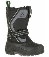 Kamik Snowcoast3 Kid's Boots Black & Charcoal