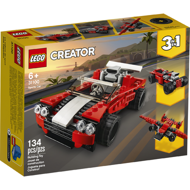 LEGO Creator 3-in-1 Sports Car Building Kit