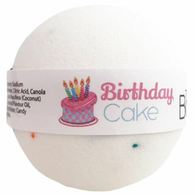The Bath Bomb Company Birthday Cake Bath Bomb