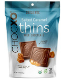 ChocXO Milk Chocolate & Salted Caramel Thins