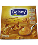 Belsoy Creamy Caramel Dessert Soy Pudding