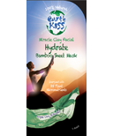 Earth Kiss Miracle Clay Hydrating Facial Mask.
