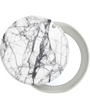 Popsockets Phone Grip + Pop Mirror Dove White Marble