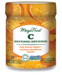 MegaFood Vitamin C Defense Tangy Citrus Gummies
