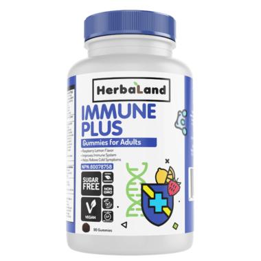 Herbaland Immune Plus Gummies for Adults