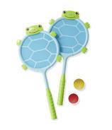 Melissa & Doug Dilly Dally Turtle Racquet Set