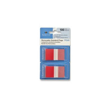 Sparco Removable 1 Inch Standard Flags