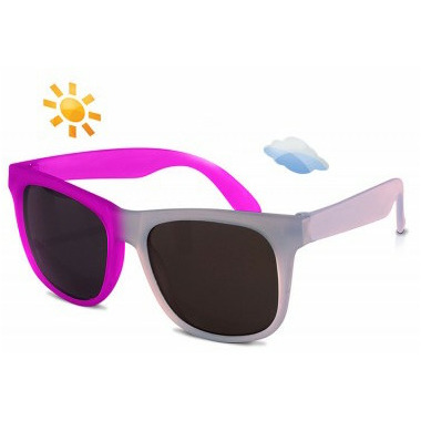 Real Shades Switch Colour Changing Wayfarer Light Blue Purple