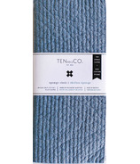 Ten and Co. Solid Sponge Cloth Set Stone
