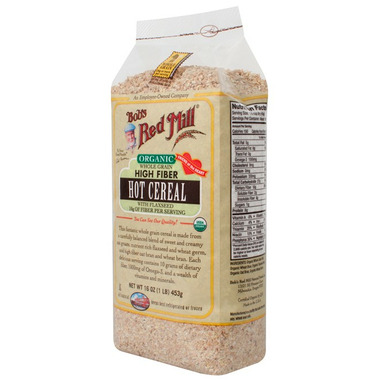 Bob\'s Red Mill Organic High Fiber Hot Cereal