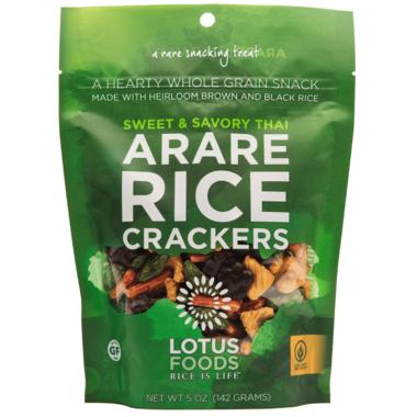 Lotus Foods Sweet & Savory Thai Arare Rice Cracker