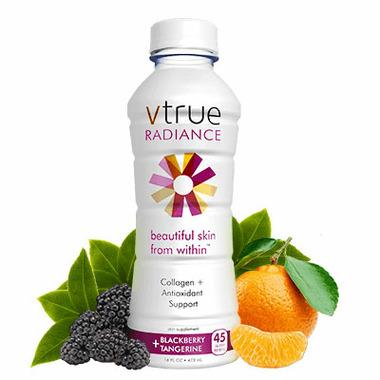 Vtrue Welness Water Blackberry & Tangerine