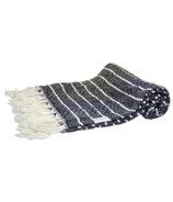 House of Jude Mini Turkish Towel Raven