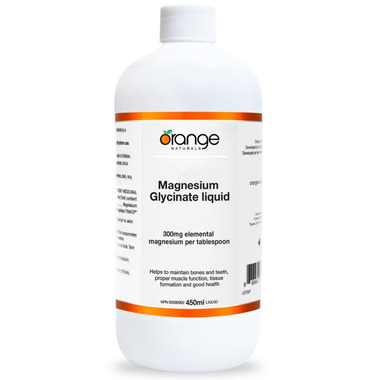 Orange Naturals Magnesium Glycinate Liquid