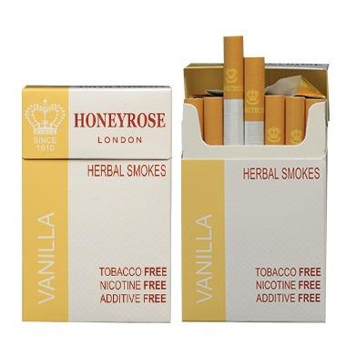 Honeyrose Vanilla Herbal Cigarettes