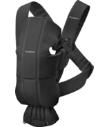BabyBjorn Baby Carrier Mini Black Cotton